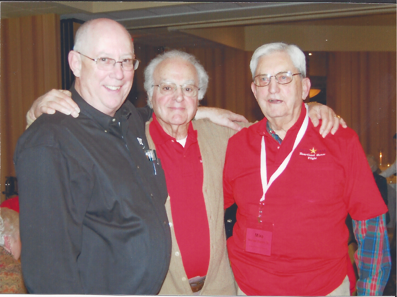 Left to right- John Liebsack, Subby Caniglia, Mike Bizzarri