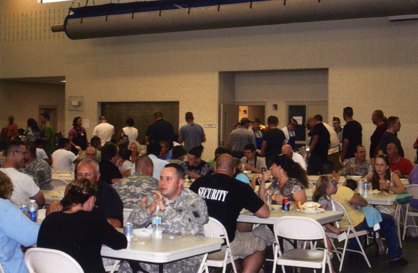 VFW Post 1581 hosted the 402 MP unit with a BBQ.