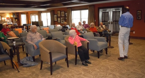 Heritage at Sterling Ridge residents presented with VA information
