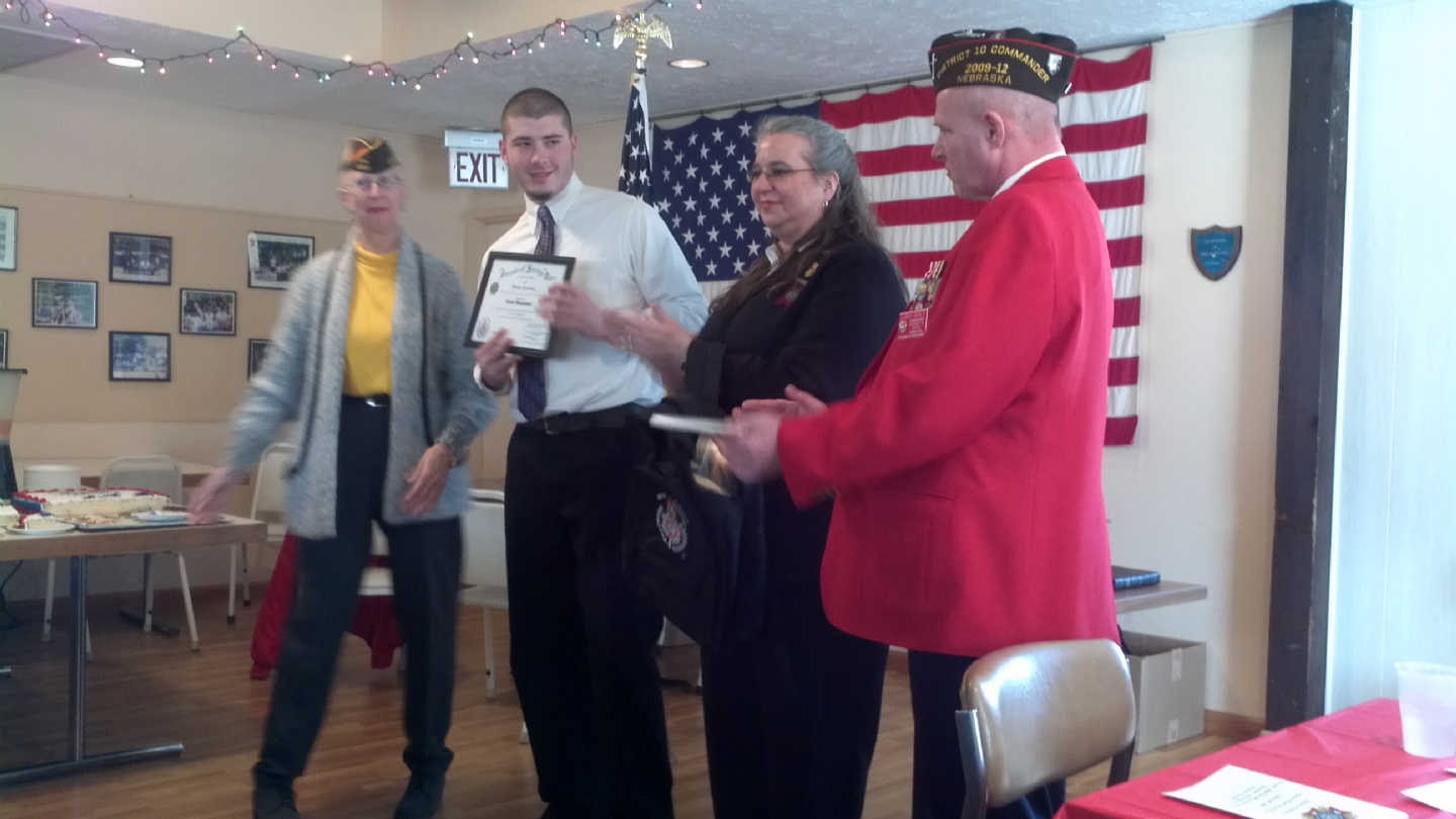 We had our District 10 meeting on January 15, 2012 at VFW post 3421, 3434 McKinley St Omaha NE 68112. 