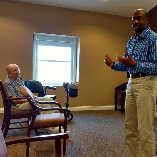 Heritage Point residents presented with VA information