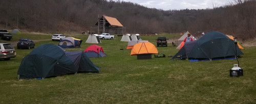 Boy Scout Troop 408 tents donated by VFW Post 1581